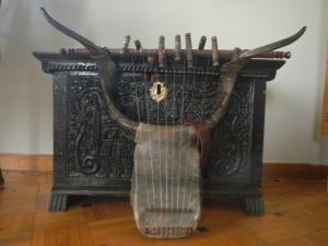 Old lyre